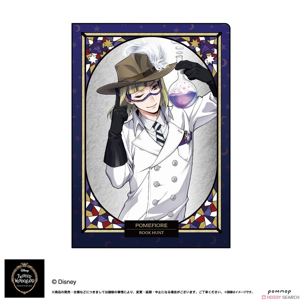 ディズニー ツイステッドワンダーランド『A5ダブルクリアファイルコレクション A』11個入りBOX-012