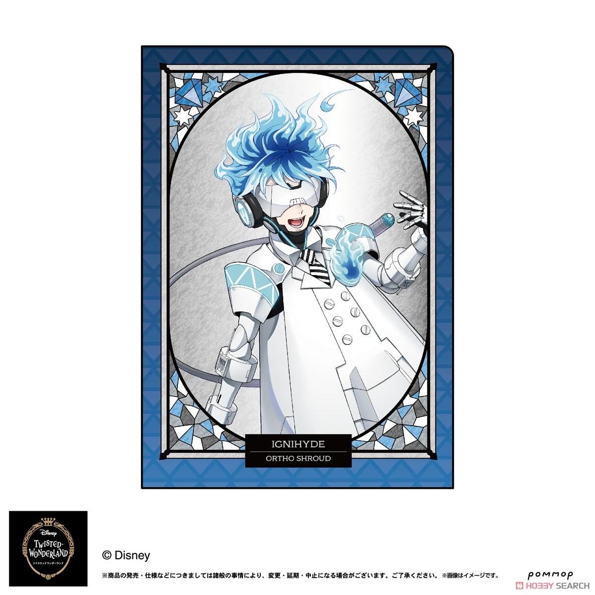 ディズニー ツイステッドワンダーランド『A5ダブルクリアファイルコレクション A』11個入りBOX-020
