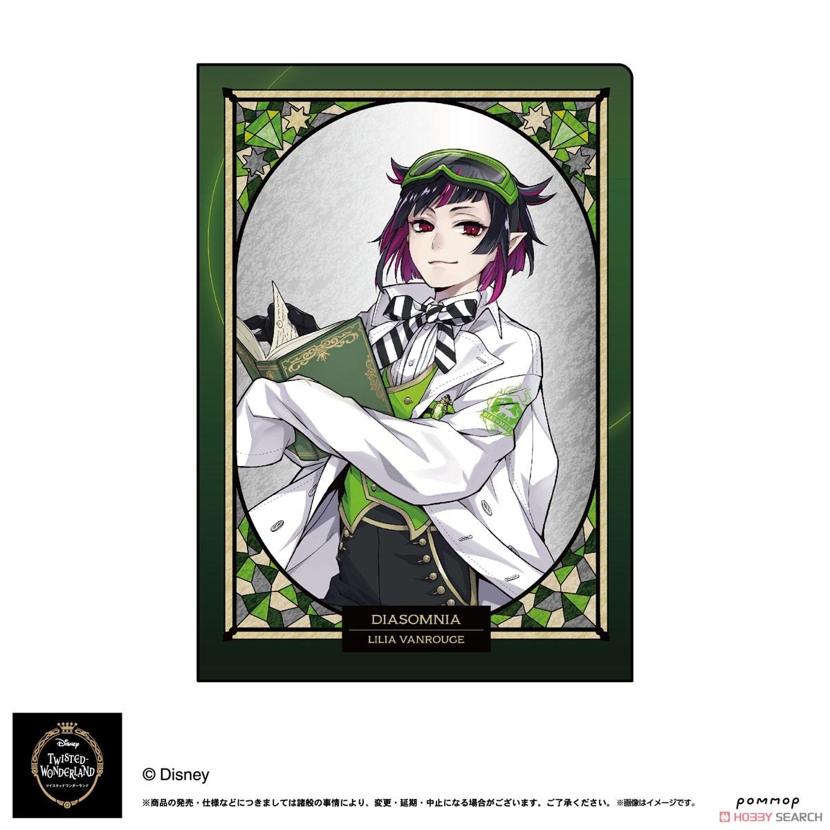 ディズニー ツイステッドワンダーランド『A5ダブルクリアファイルコレクション A』11個入りBOX-022