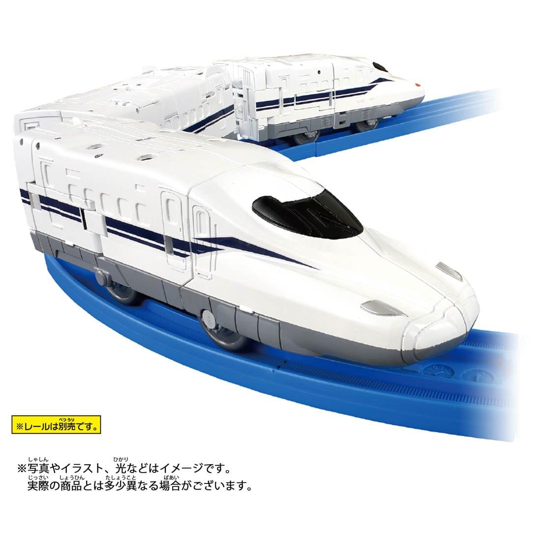 新幹線変形ロボ シンカリオン『DXS シンカリオン N700Sのぞみ』可変プラレール-009