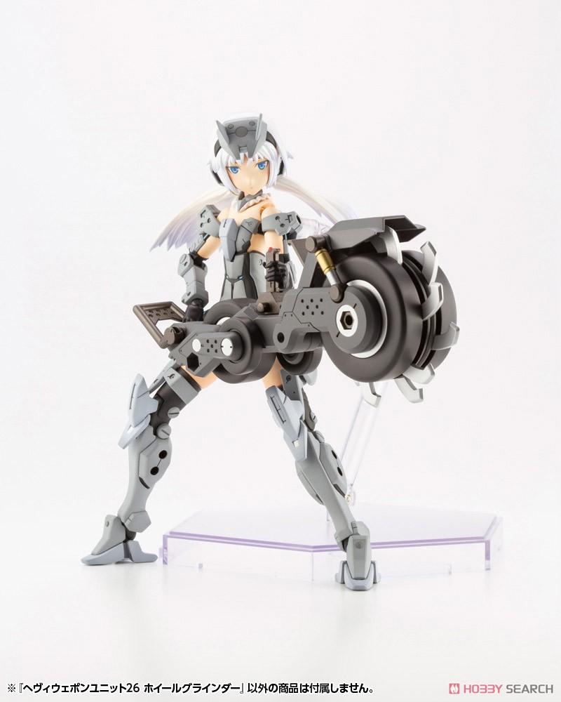 M.S.G へヴィウェポンユニット26『ホイールグラインダー』モデリングサポートグッズ プラモデル-008