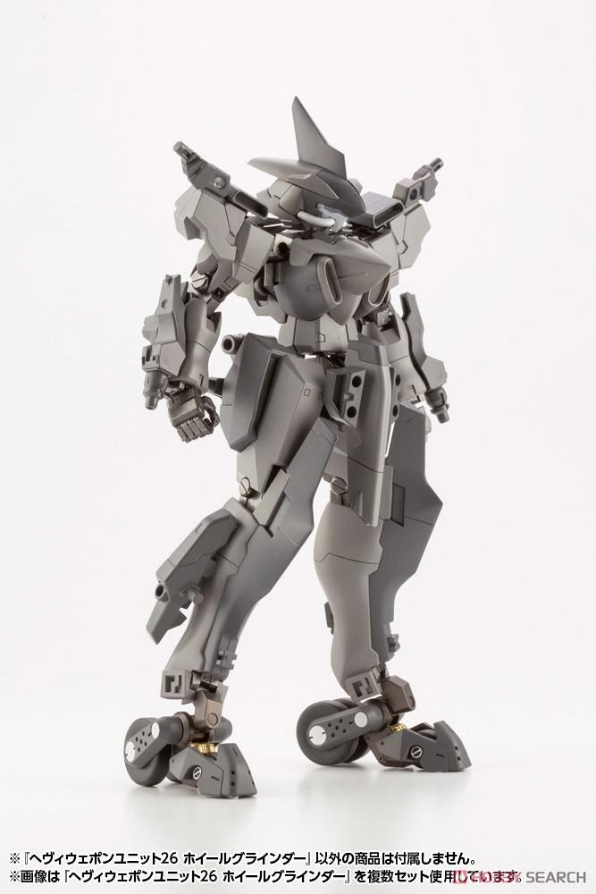 M.S.G へヴィウェポンユニット26『ホイールグラインダー』モデリングサポートグッズ プラモデル-013