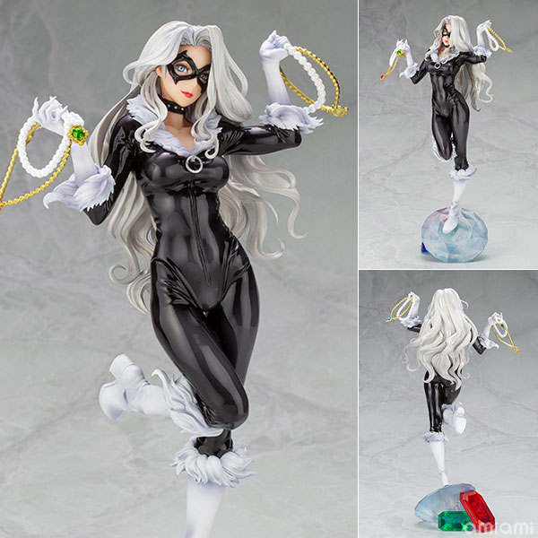 MARVEL美少女 MARVEL UNIVERSE『ブラックキャット Steals Your Heart』1/7 完成品フィギュア