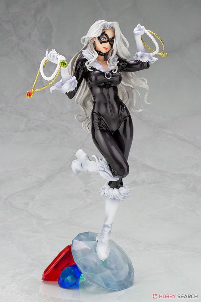 MARVEL美少女 MARVEL UNIVERSE『ブラックキャット Steals Your Heart』1/7 完成品フィギュア-001