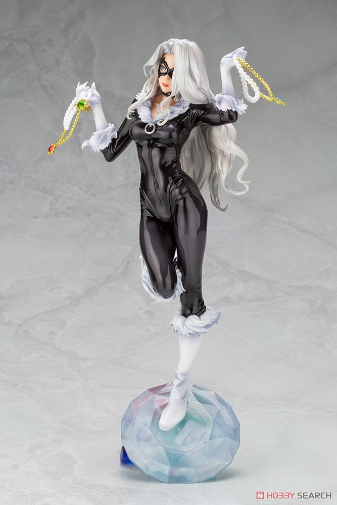 MARVEL美少女 MARVEL UNIVERSE『ブラックキャット Steals Your Heart』1/7 完成品フィギュア-003