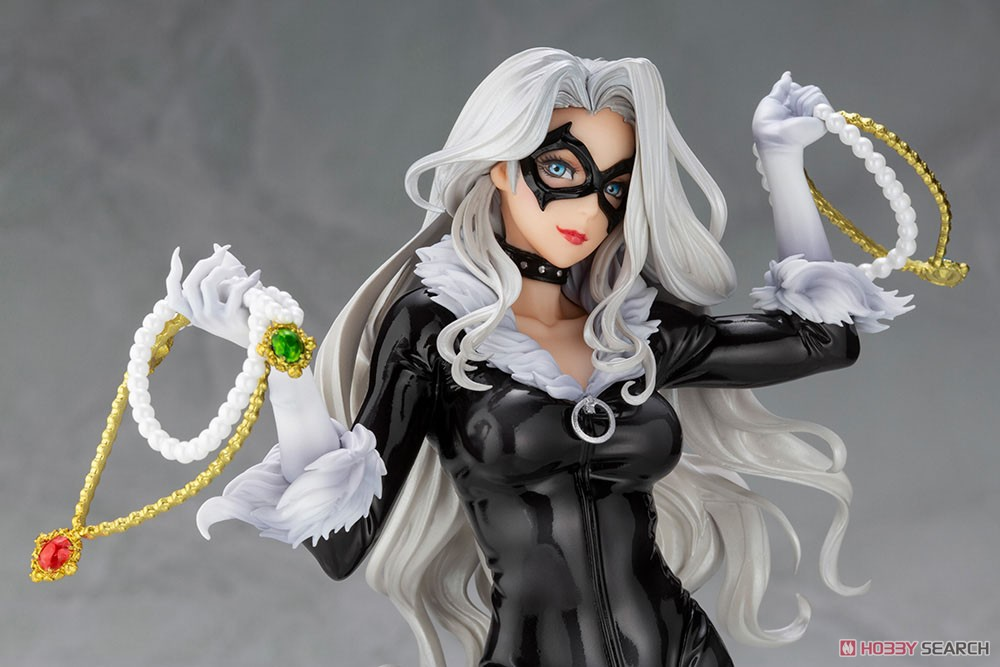 MARVEL美少女 MARVEL UNIVERSE『ブラックキャット Steals Your Heart』1/7 完成品フィギュア-007