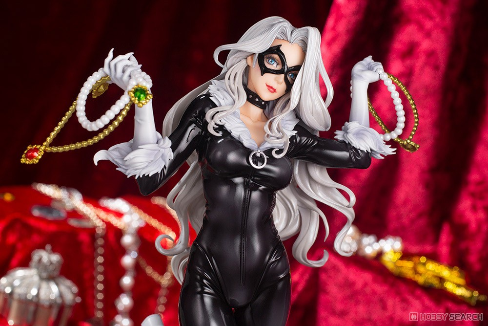 MARVEL美少女 MARVEL UNIVERSE『ブラックキャット Steals Your Heart』1/7 完成品フィギュア-013