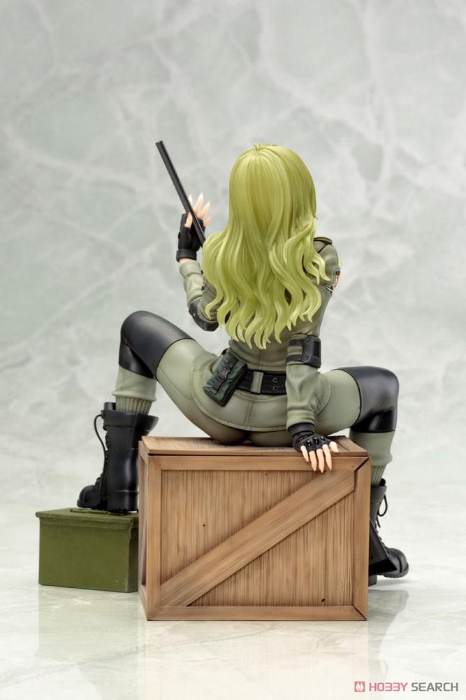 【再販】メタルギア ソリッド美少女『スナイパーウルフ』1/7 完成品フィギュア-004
