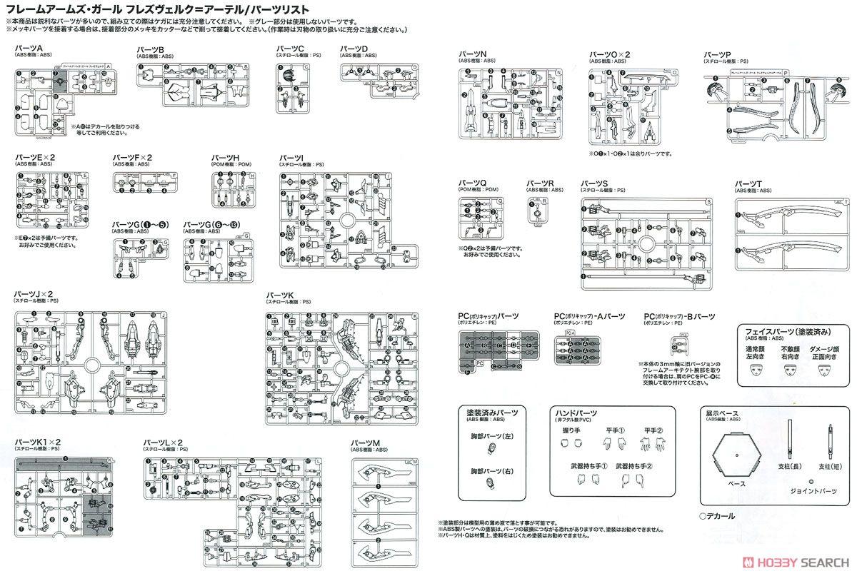 【再販】フレームアームズ・ガール『フレズヴェルク=アーテル』プラモデル-049