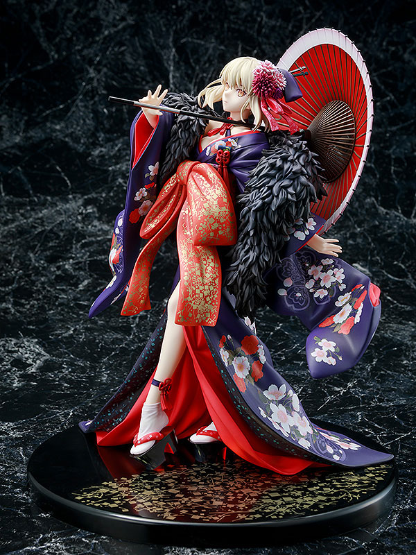 KDcolle『セイバーオルタ 着物Ver.』Fate/stay night [Heaven's Feel] 1/7 完成品フィギュア-003