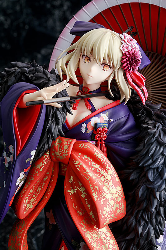 KDcolle『セイバーオルタ 着物Ver.』Fate/stay night [Heaven's Feel] 1/7 完成品フィギュア-007