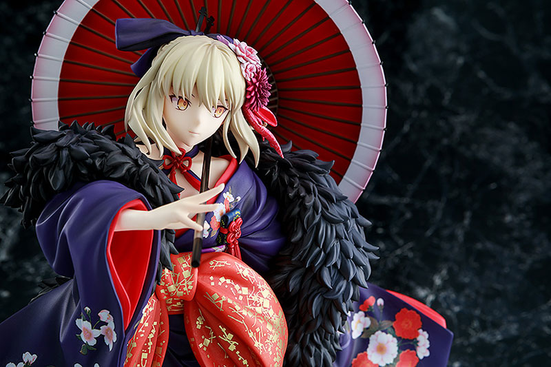 KDcolle『セイバーオルタ 着物Ver.』Fate/stay night [Heaven's Feel] 1/7 完成品フィギュア-008