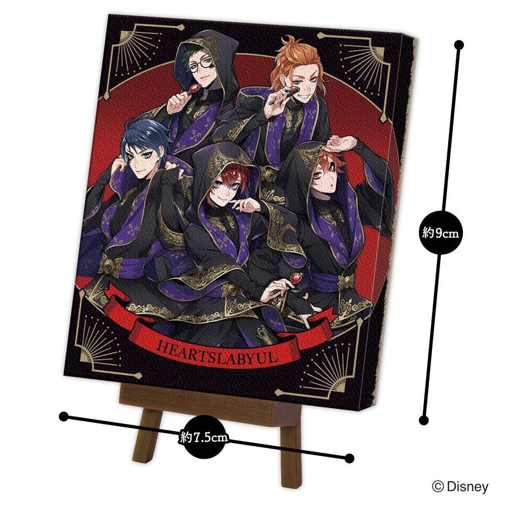 【食玩】ツイステ『ミニキャンバスアート/ツイステッドワンダーランド』10個入りBOX-002