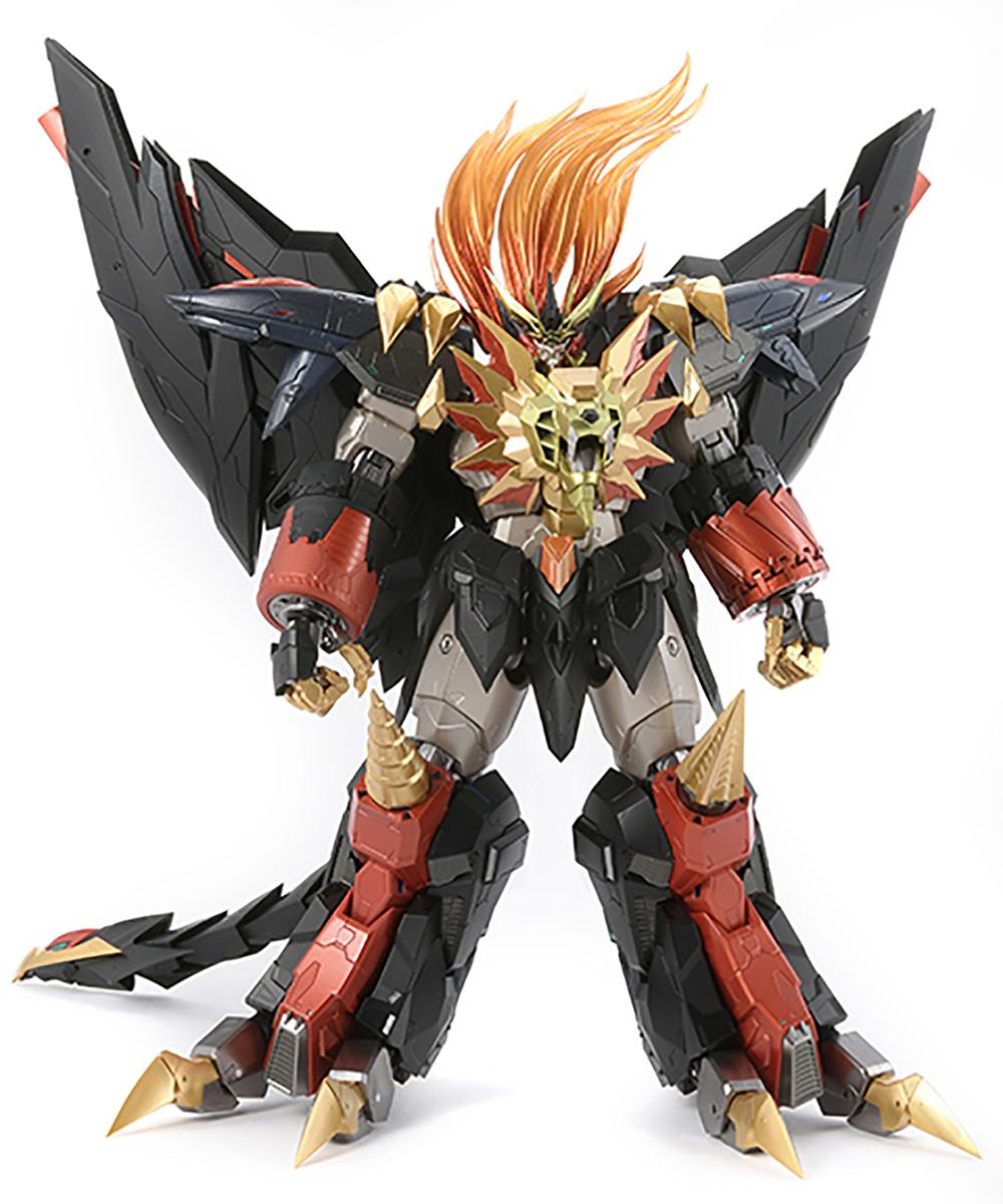 【限定販売】AMAKUNI機神『ジェネシックガオガイガー』勇者王ガオガイガー 可動フィギュア-001
