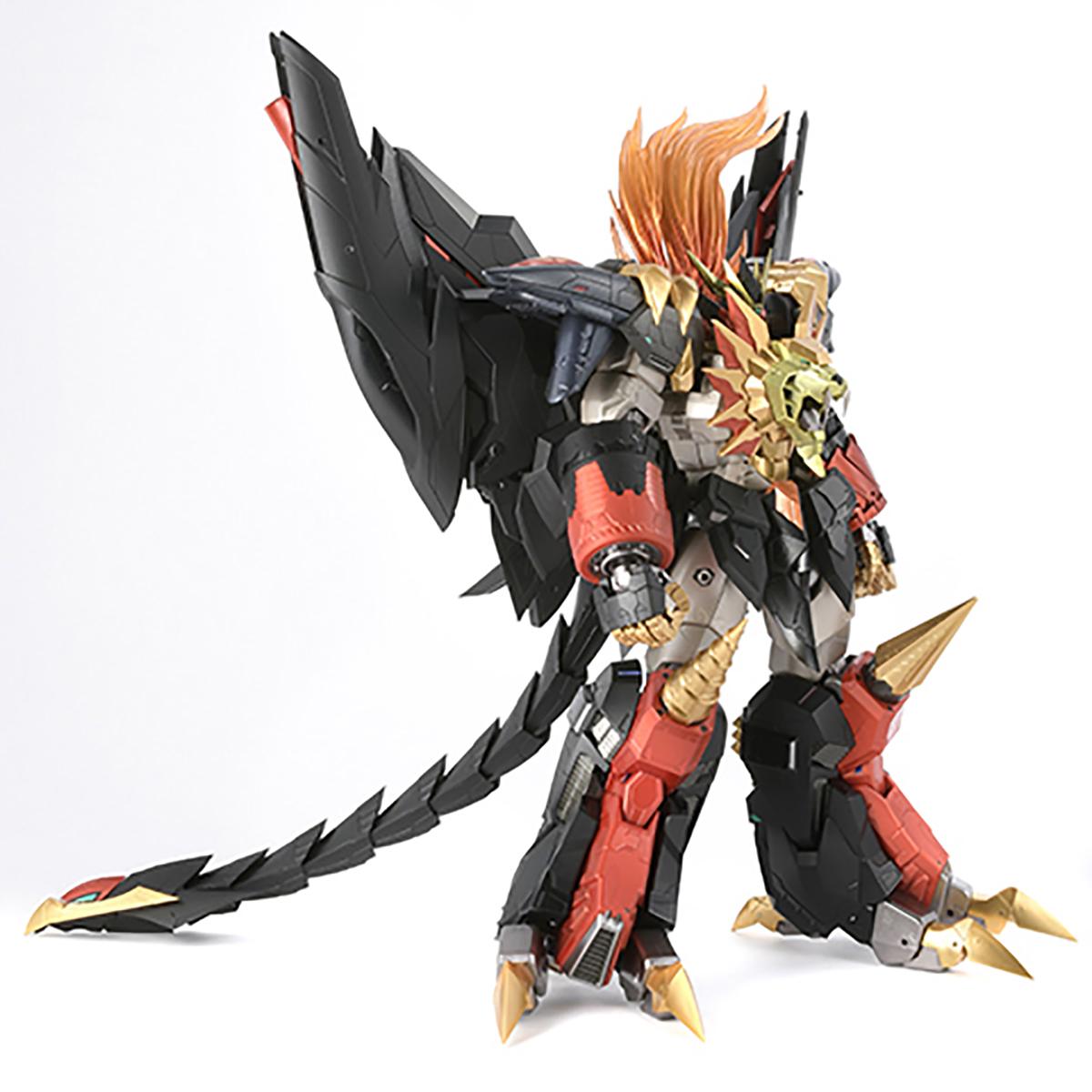 【限定販売】AMAKUNI機神『ジェネシックガオガイガー』勇者王ガオガイガー 可動フィギュア-004