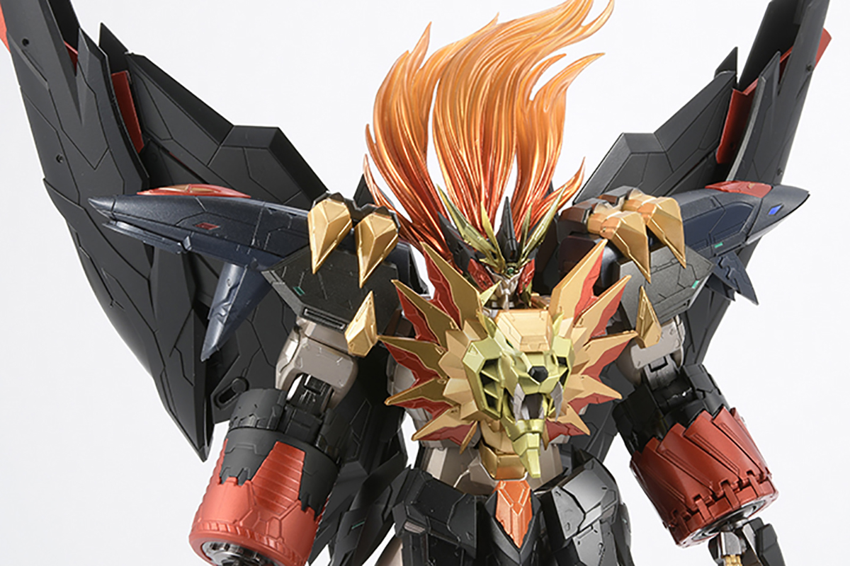 【限定販売】AMAKUNI機神『ジェネシックガオガイガー』勇者王ガオガイガー 可動フィギュア-005