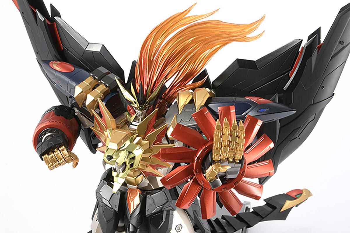 【限定販売】AMAKUNI機神『ジェネシックガオガイガー』勇者王ガオガイガー 可動フィギュア-008