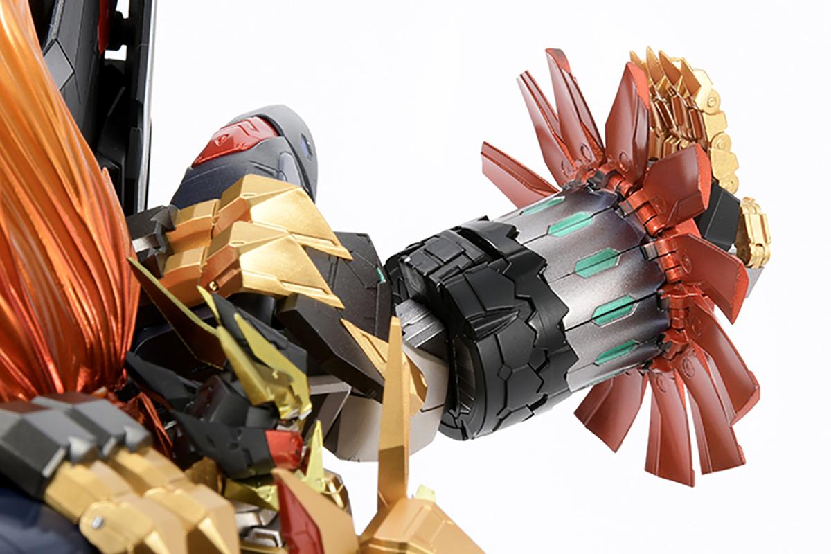 【限定販売】AMAKUNI機神『ジェネシックガオガイガー』勇者王ガオガイガー 可動フィギュア-009