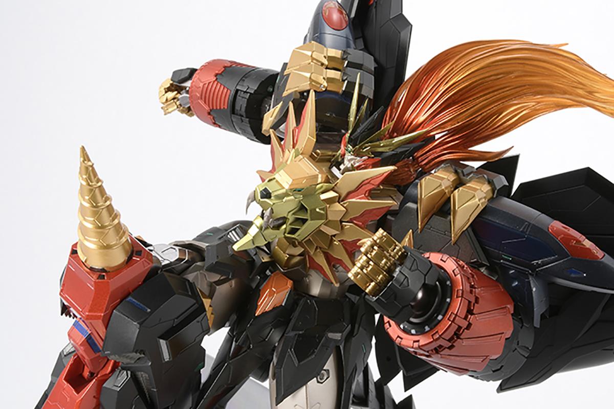 【限定販売】AMAKUNI機神『ジェネシックガオガイガー』勇者王ガオガイガー 可動フィギュア-012