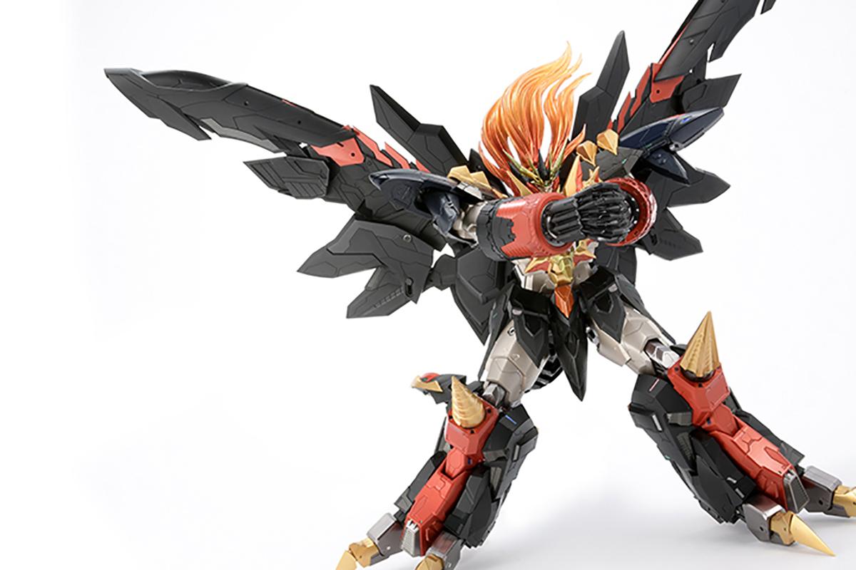 【限定販売】AMAKUNI機神『ジェネシックガオガイガー』勇者王ガオガイガー 可動フィギュア-015