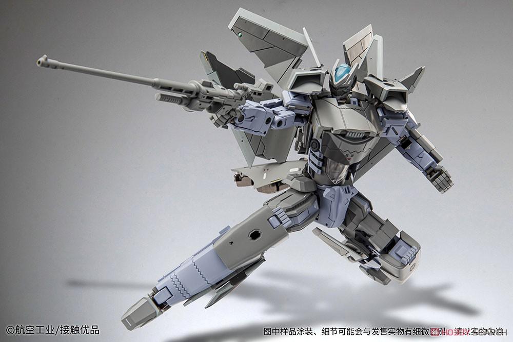 オリジナルロボット『殲20(J-20)』変形可動フィギュア-001