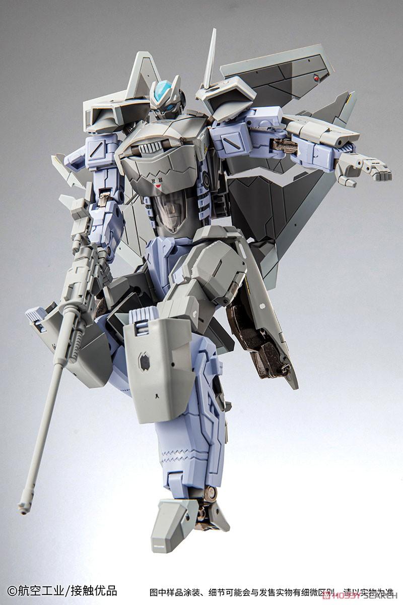 オリジナルロボット『殲20(J-20)』変形可動フィギュア-002