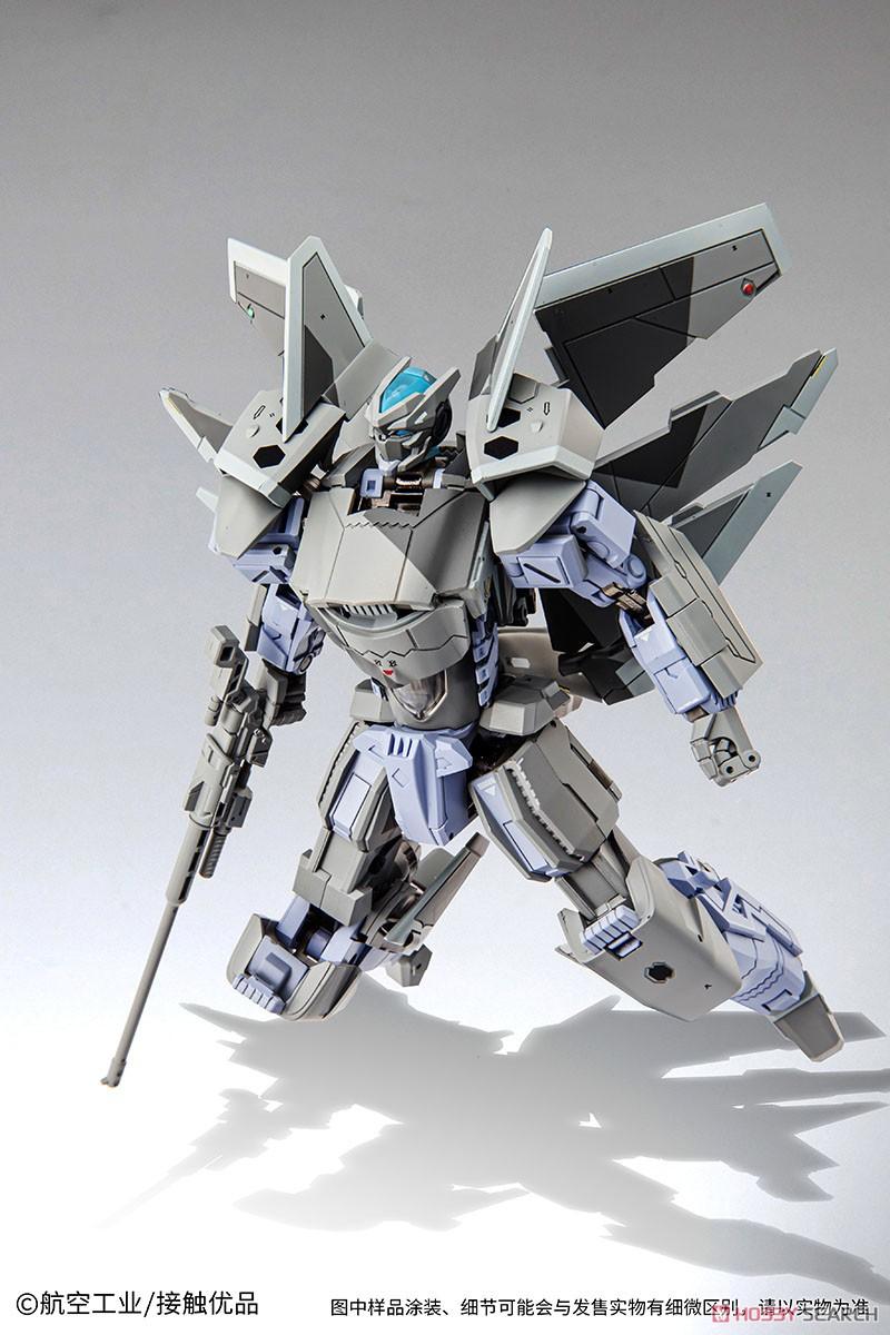 オリジナルロボット『殲20(J-20)』変形可動フィギュア-003