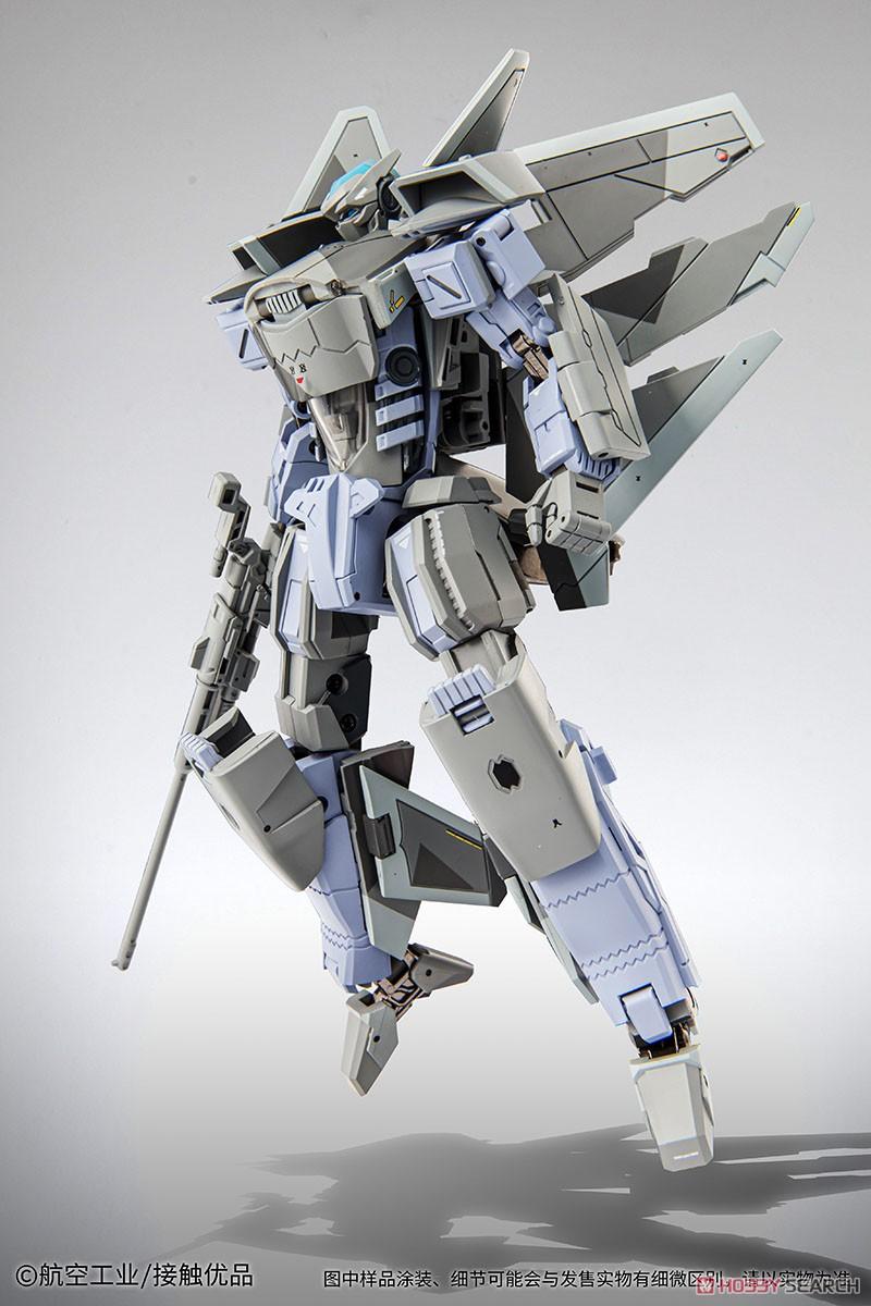 オリジナルロボット『殲20(J-20)』変形可動フィギュア-004