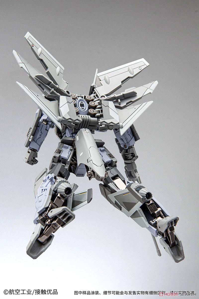 オリジナルロボット『殲20(J-20)』変形可動フィギュア-005
