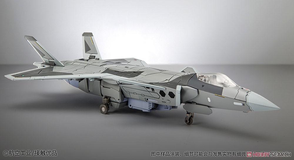 オリジナルロボット『殲20(J-20)』変形可動フィギュア-007