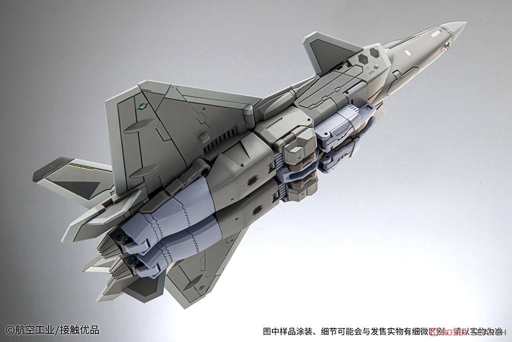 オリジナルロボット『殲20(J-20)』変形可動フィギュア-008