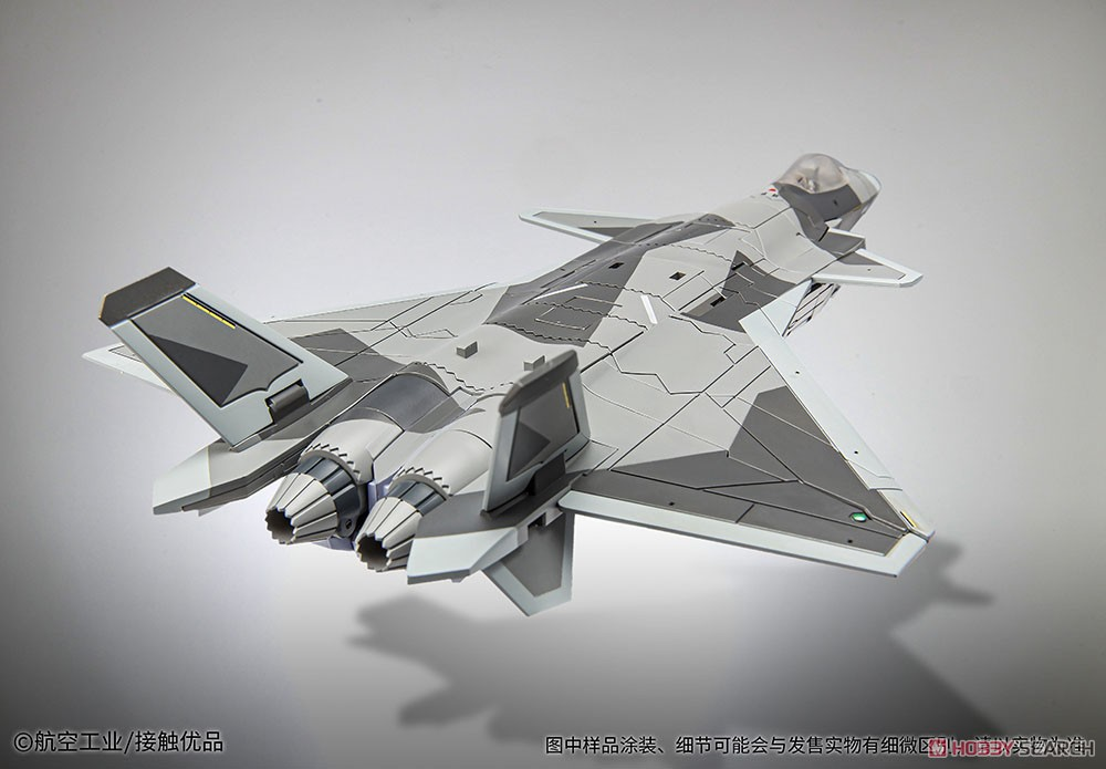 オリジナルロボット『殲20(J-20)』変形可動フィギュア-009