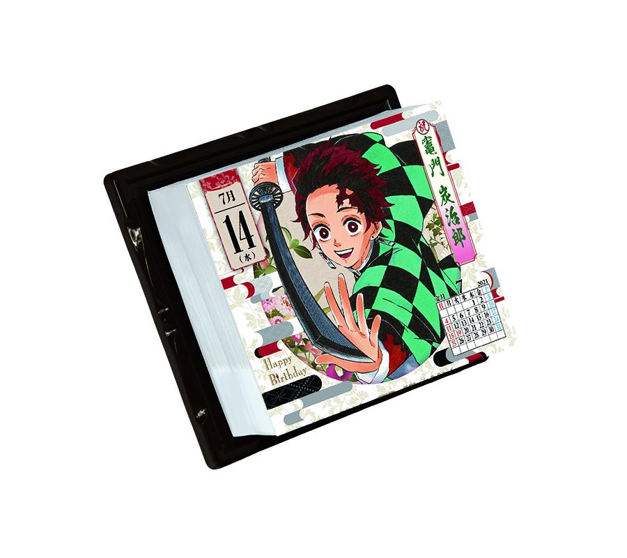 鬼滅の刃『コミックカレンダー2021 特製缶入り 日めくりカレンダー』グッズ-004