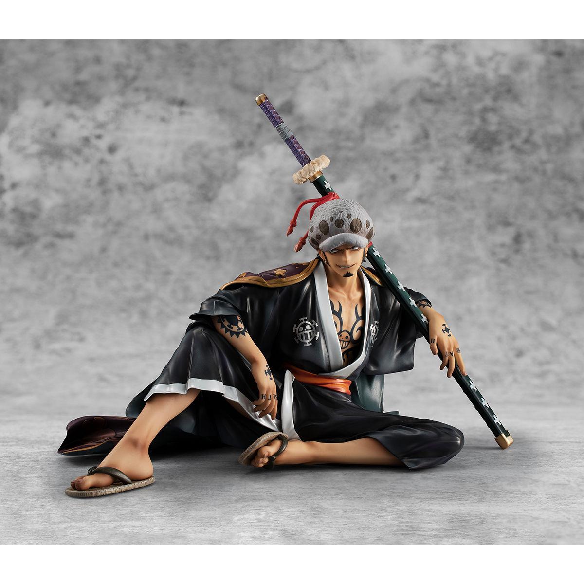 """【限定販売】Portrait.Of.Pirates ワンピース """"Warriors Alliance""""『トラファルガー・ロー』完成品フィギュア-003"""
