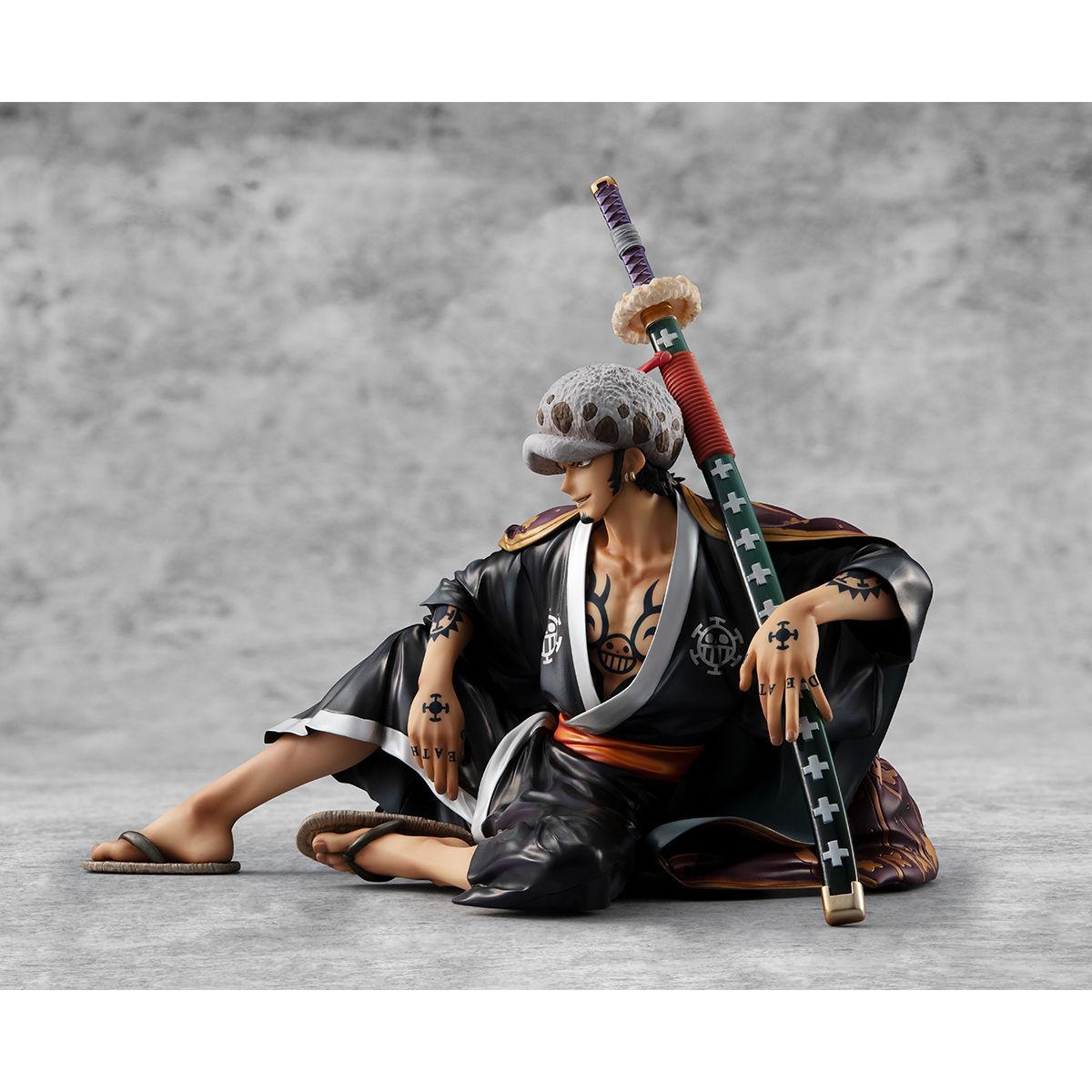 """【限定販売】Portrait.Of.Pirates ワンピース """"Warriors Alliance""""『トラファルガー・ロー』完成品フィギュア-004"""