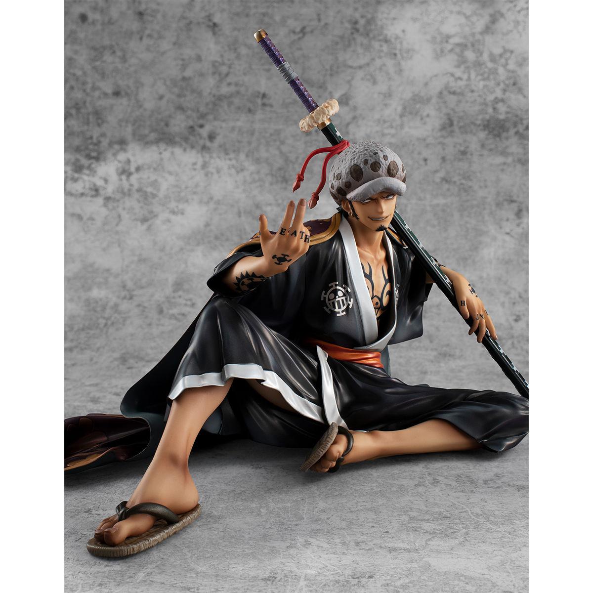 """【限定販売】Portrait.Of.Pirates ワンピース """"Warriors Alliance""""『トラファルガー・ロー』完成品フィギュア-006"""