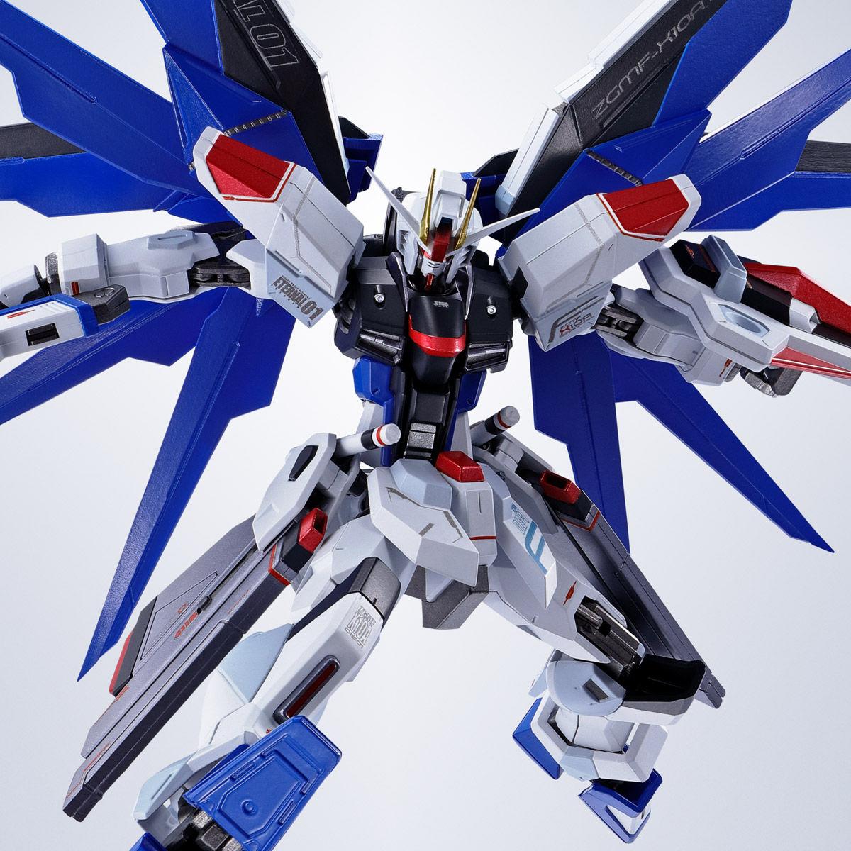 【限定販売】METAL ROBOT魂〈SIDE MS〉『フリーダムガンダム』ガンダムSEED 可動フィギュア-001