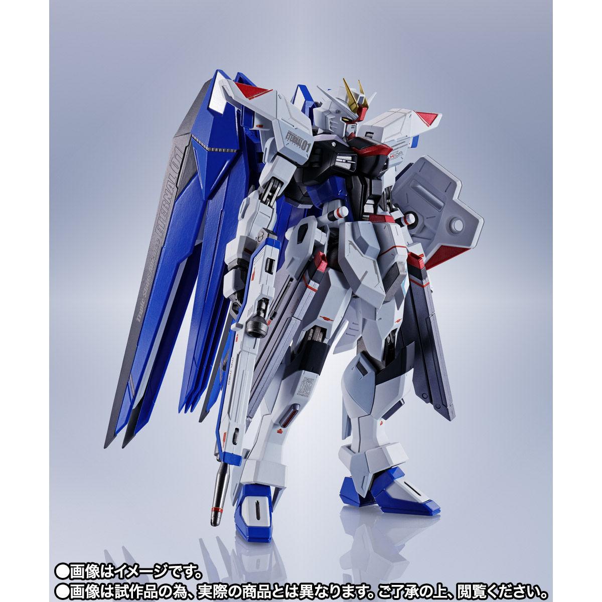 【限定販売】【再販】METAL ROBOT魂〈SIDE MS〉『フリーダムガンダム』ガンダムSEED 可動フィギュア-002