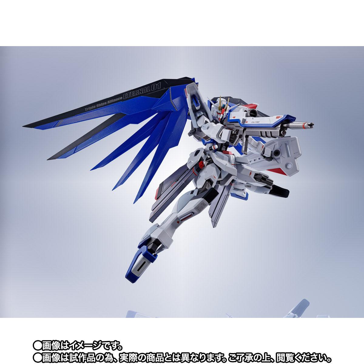 【限定販売】【再販】METAL ROBOT魂〈SIDE MS〉『フリーダムガンダム』ガンダムSEED 可動フィギュア-004