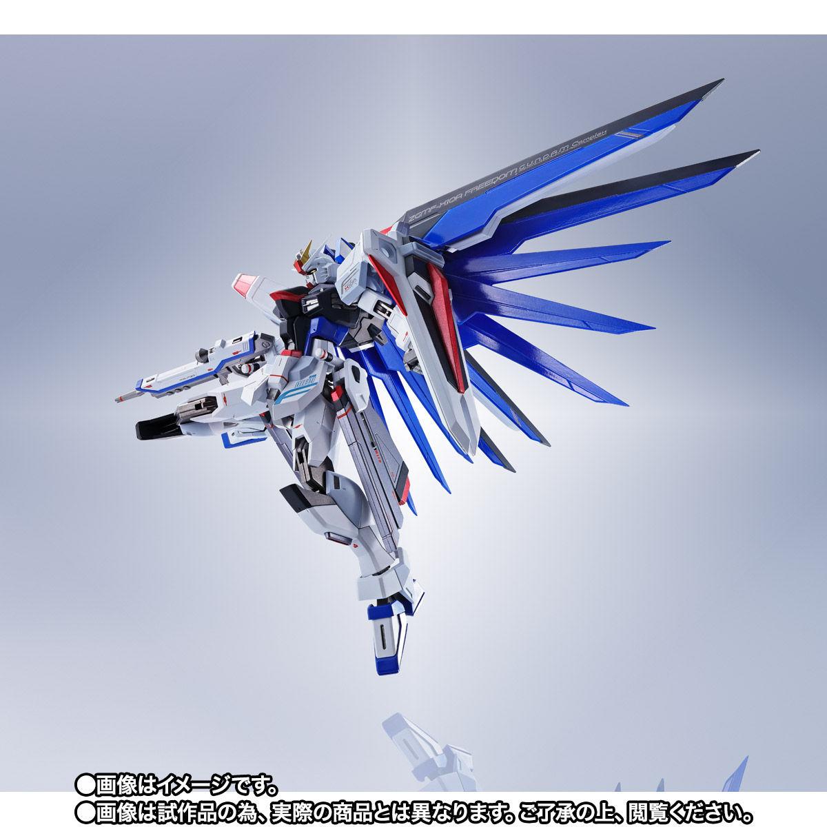 【限定販売】【再販】METAL ROBOT魂〈SIDE MS〉『フリーダムガンダム』ガンダムSEED 可動フィギュア-005