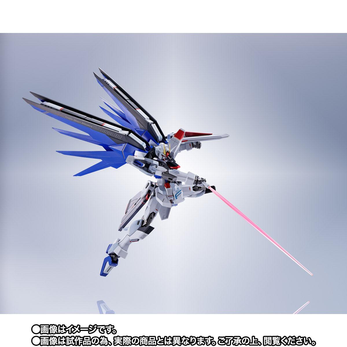 【限定販売】【再販】METAL ROBOT魂〈SIDE MS〉『フリーダムガンダム』ガンダムSEED 可動フィギュア-006