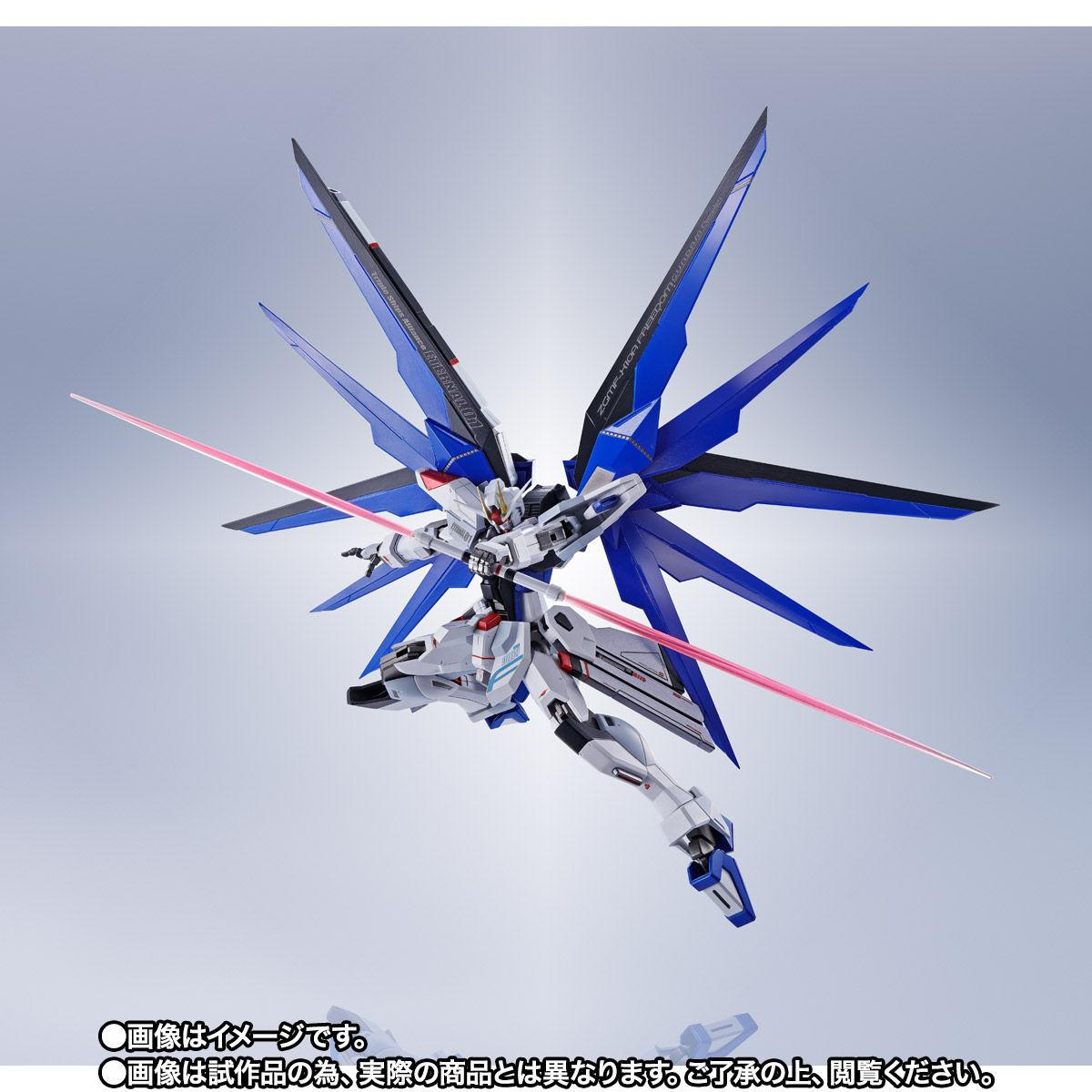 【限定販売】【再販】METAL ROBOT魂〈SIDE MS〉『フリーダムガンダム』ガンダムSEED 可動フィギュア-007
