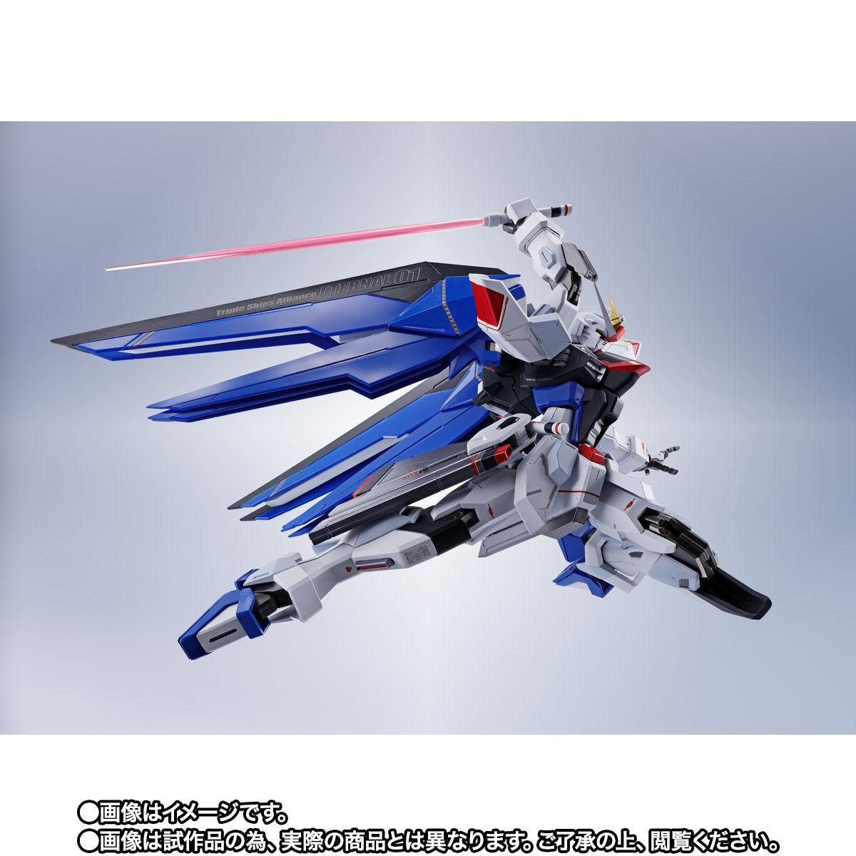 【限定販売】【再販】METAL ROBOT魂〈SIDE MS〉『フリーダムガンダム』ガンダムSEED 可動フィギュア-008