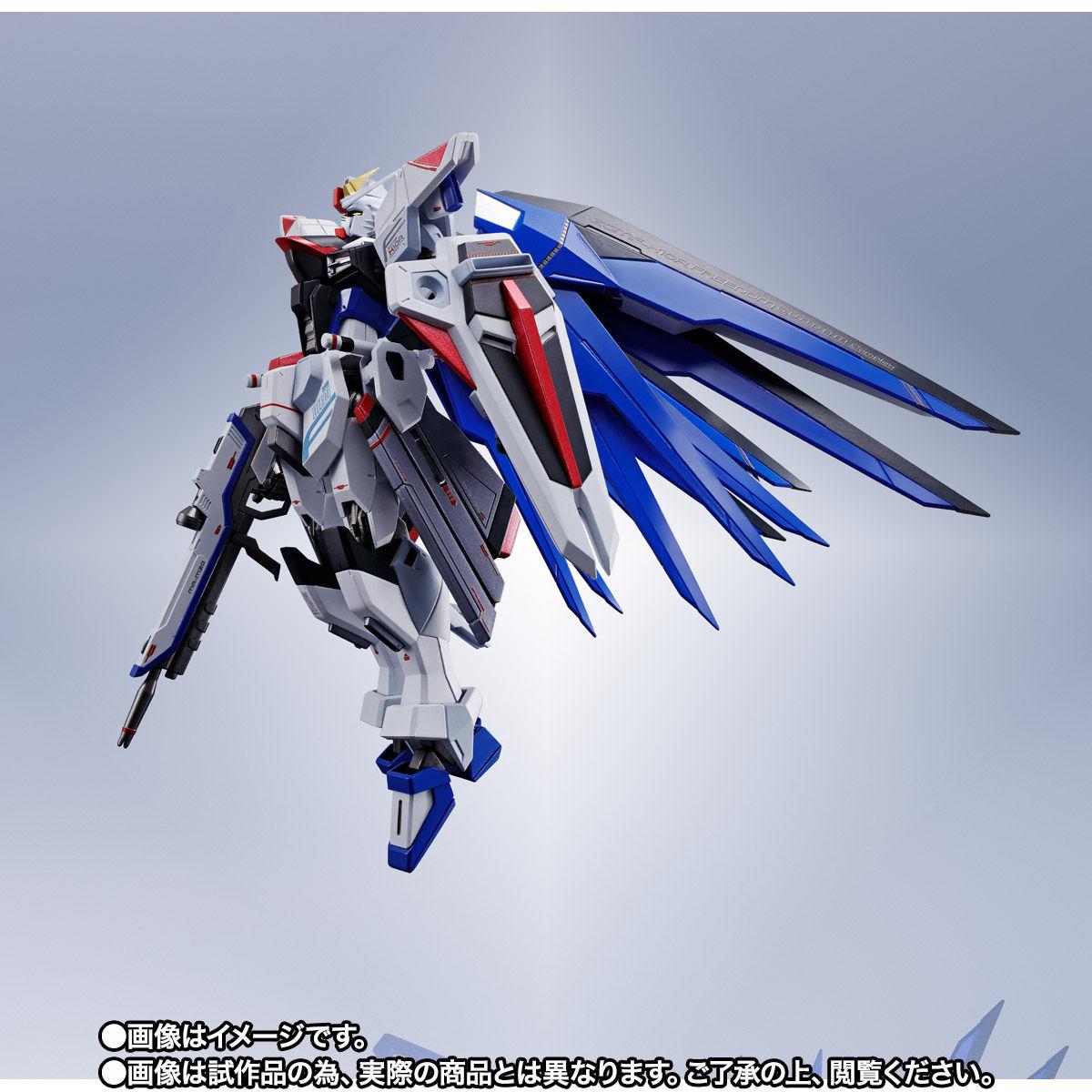 【限定販売】【再販】METAL ROBOT魂〈SIDE MS〉『フリーダムガンダム』ガンダムSEED 可動フィギュア-009