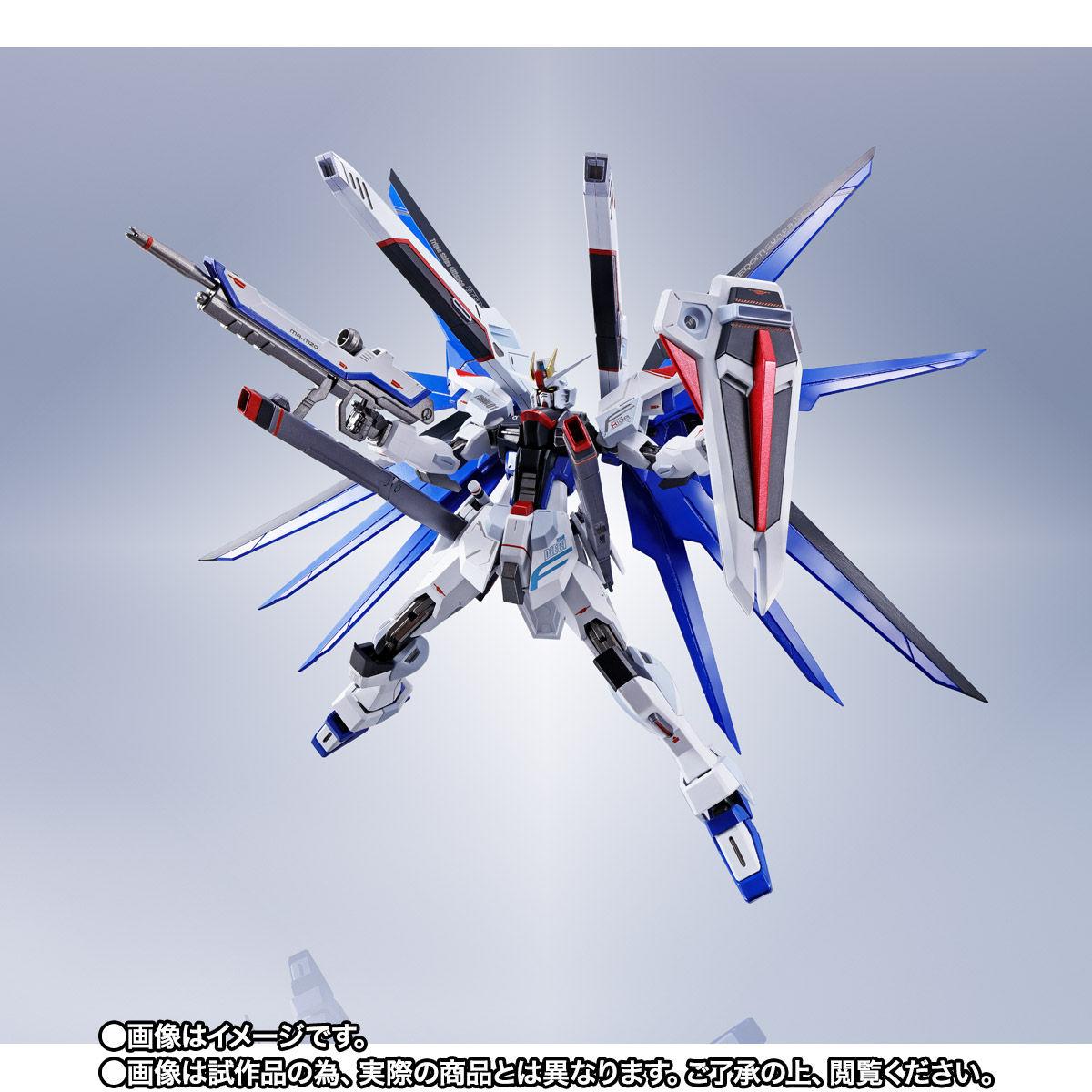 【限定販売】【再販】METAL ROBOT魂〈SIDE MS〉『フリーダムガンダム』ガンダムSEED 可動フィギュア-010
