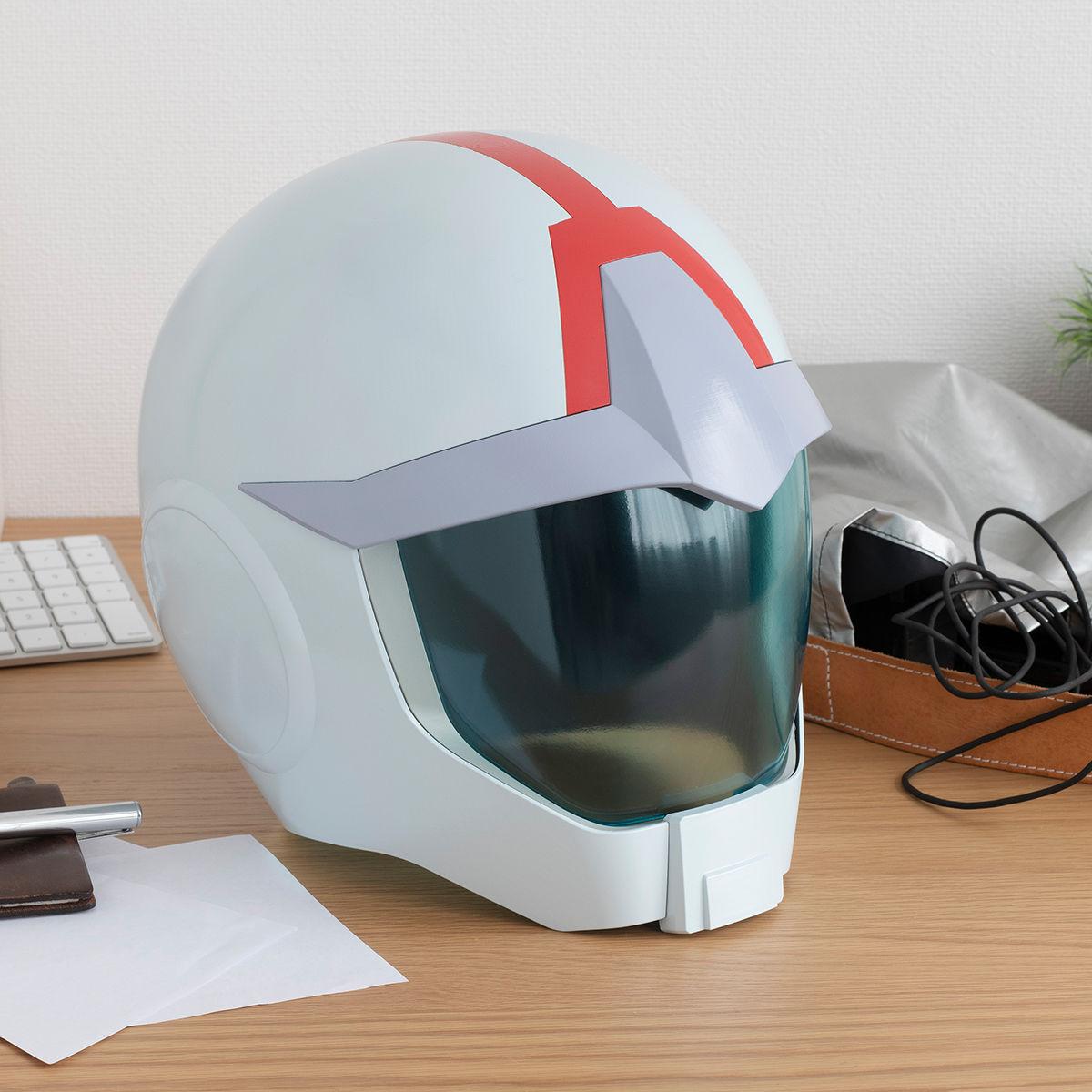 【限定販売】Full Scale Works『地球連邦軍ノーマルスーツ専用ヘルメット』機動戦士ガンダム ディスプレイモデル-001