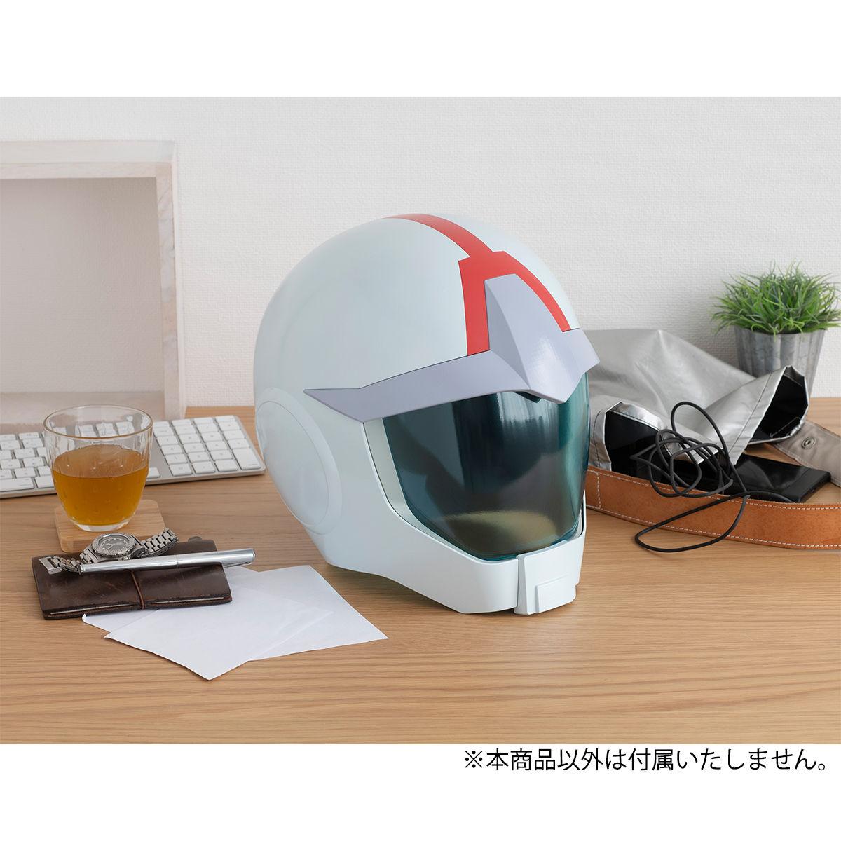【限定販売】Full Scale Works『地球連邦軍ノーマルスーツ専用ヘルメット』機動戦士ガンダム ディスプレイモデル-010