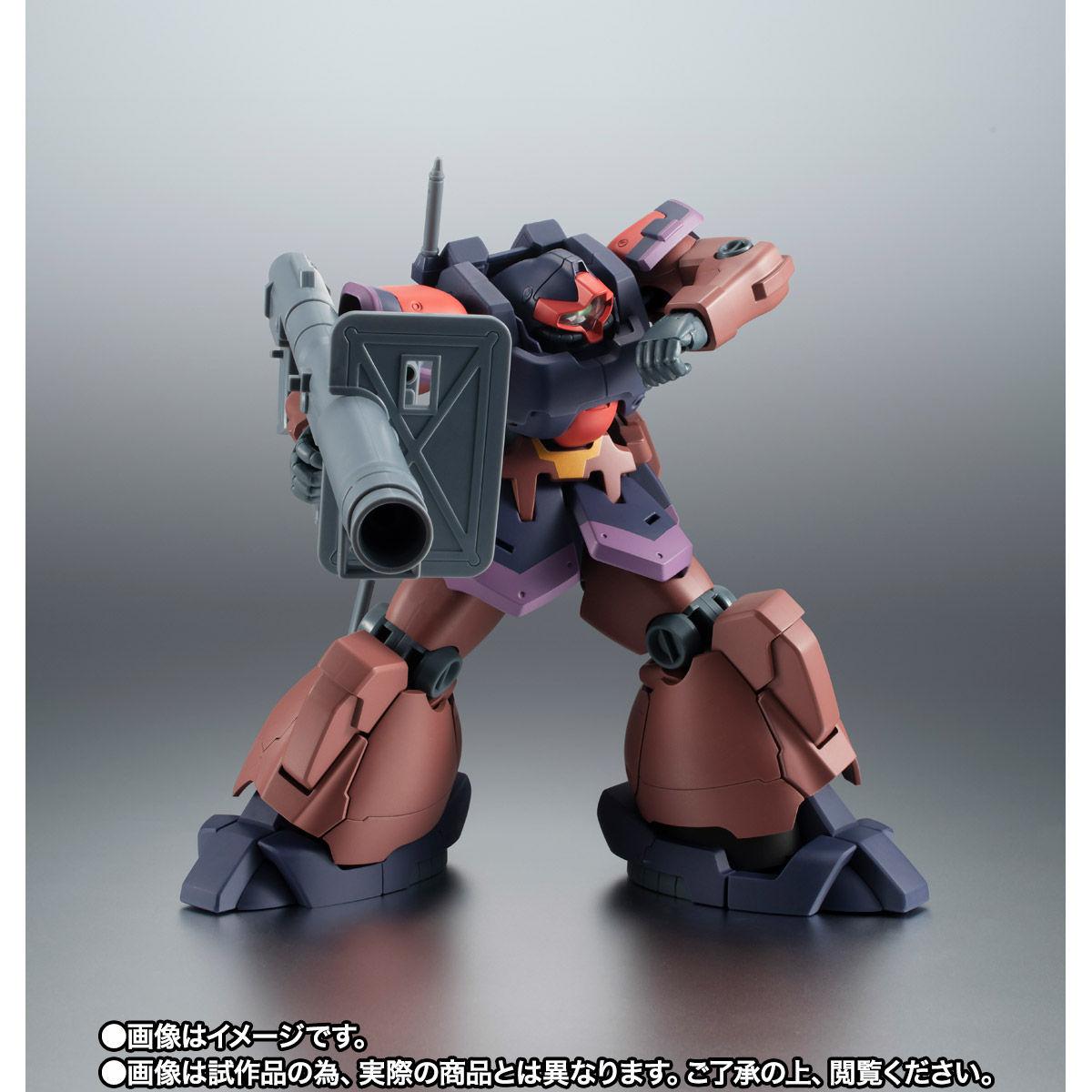 【限定販売】ROBOT魂〈SIDE MS〉『YMS-09R-2 プロトタイプ・リック・ドムII ver. A.N.I.M.E.』ガンダム0083 可動フィギュア-004