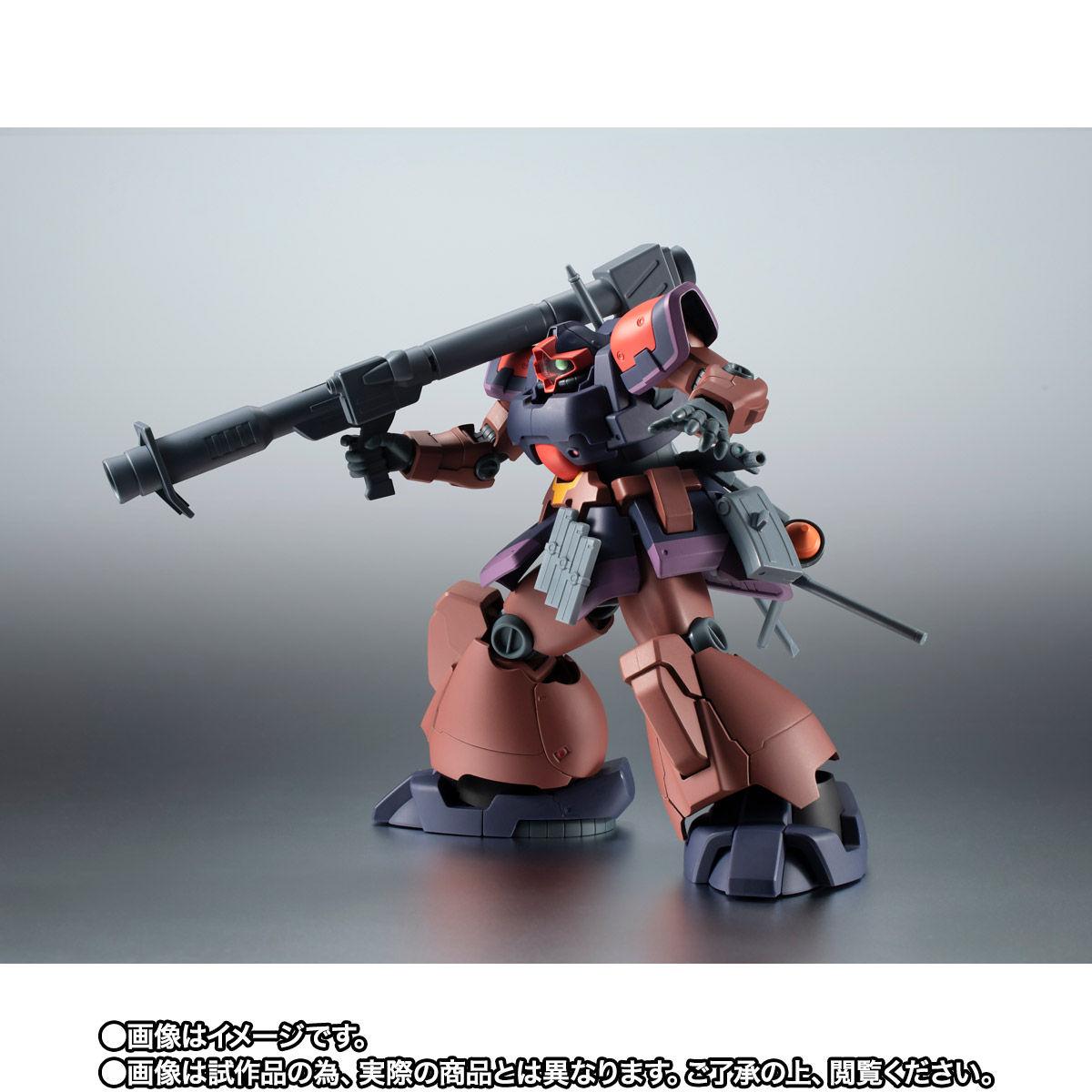 【限定販売】ROBOT魂〈SIDE MS〉『YMS-09R-2 プロトタイプ・リック・ドムII ver. A.N.I.M.E.』ガンダム0083 可動フィギュア-007
