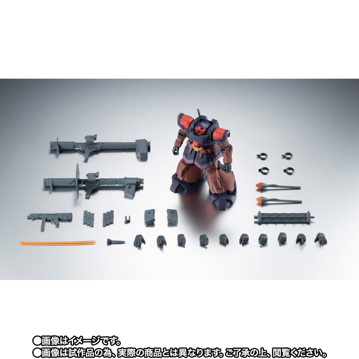 【限定販売】ROBOT魂〈SIDE MS〉『YMS-09R-2 プロトタイプ・リック・ドムII ver. A.N.I.M.E.』ガンダム0083 可動フィギュア-009